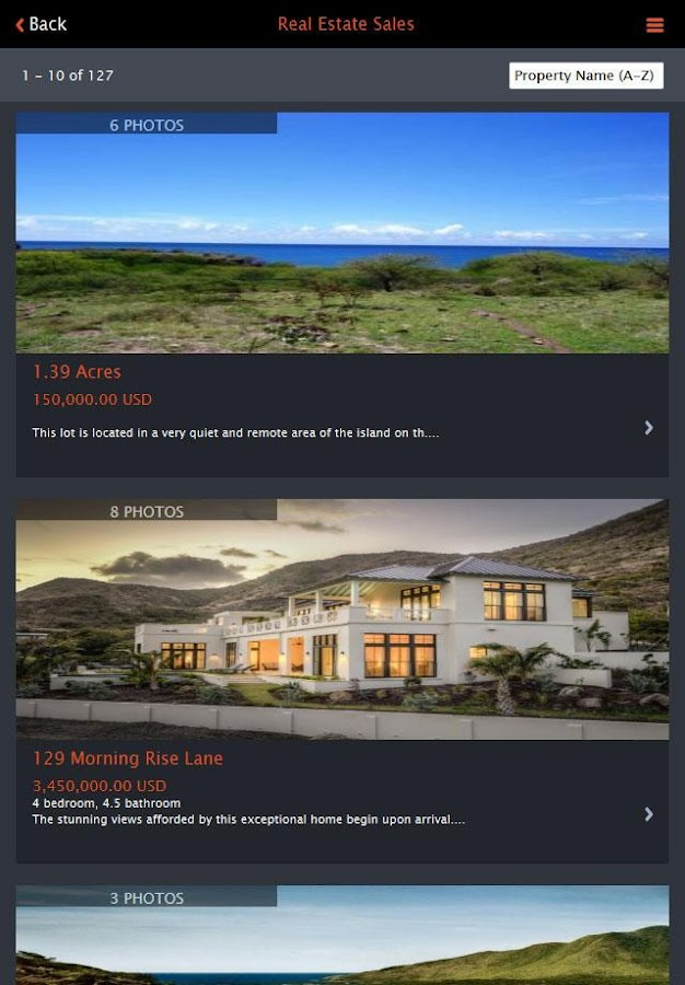 Nevis Style Realty,Real Estate- screenshot