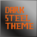 Dark Steel Theme Go Launcher icon