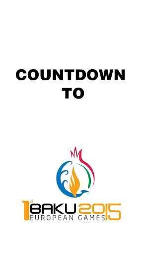 BAKU2015 Countdown