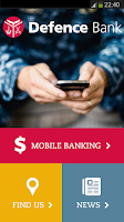 Screenshot of Defence Bank