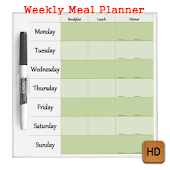 Weekly Meal Planner Howto