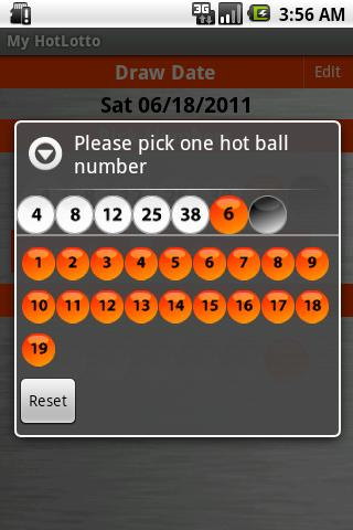 HotLotto- screenshot
