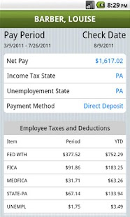 Mobile Payroll by SurePayroll - screenshot thumbnail