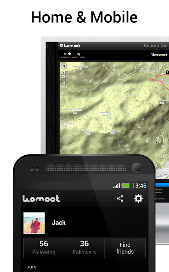 komoot – Bike & Hike Guide - screenshot