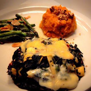 Romantic Dinner at Home – Spinach and Artichoke Stuffed Portobellos