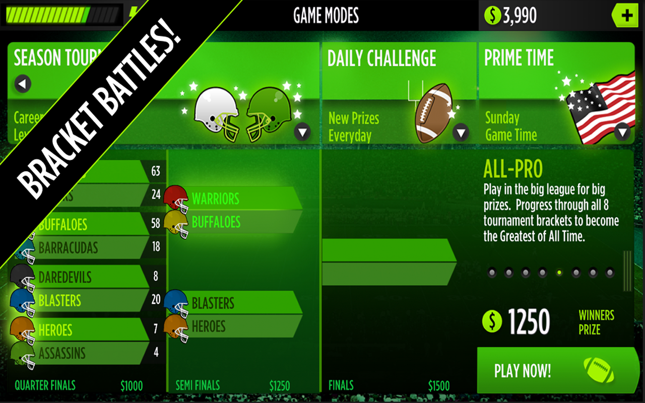 GameTime Football w/ Mike Vick- screenshot