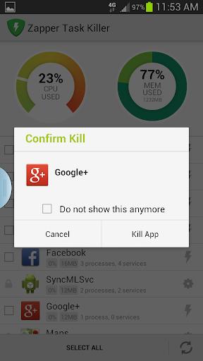 玩工具App Zapper 程序殺手免費 APP試玩