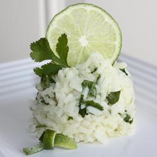 Lime Cilantro Rice.