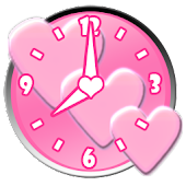 Heart HD Clock