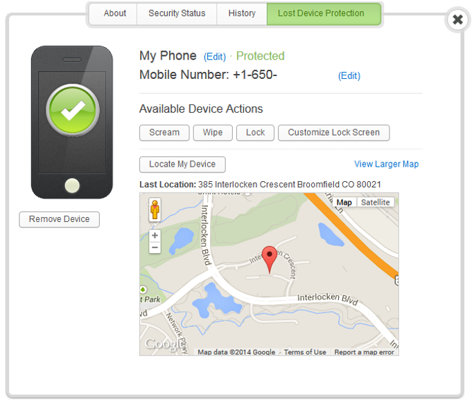 Webroot Secure Mobile- Premier- screenshot