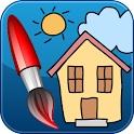 ColorKid: Coloring Pages Book icon