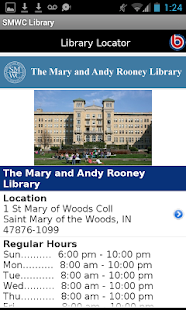 St Mary of Woods Coll Library- screenshot thumbnail