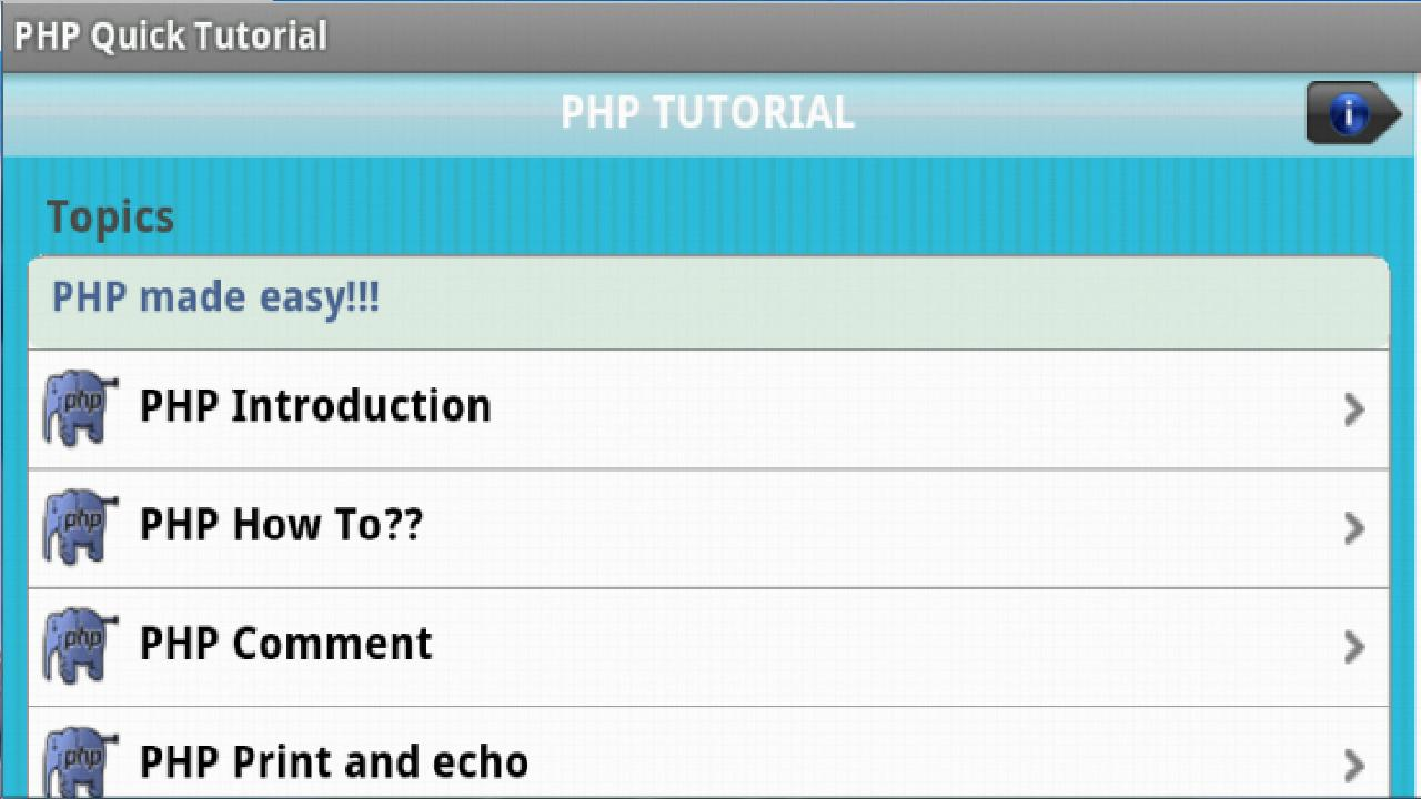 php tutor Lamp is short for linux, apache, mysql, phpthis tutorial shows how you can install an apache web server on an ubuntu 1804 lts (bionic beaver) server with php 72 (mod_php) and mysql / mariadb support and how to setup an ssl certificate with let's encrypt.