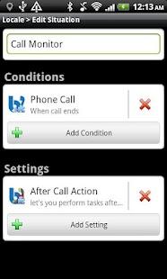 After Call Tasker Plug-in- screenshot thumbnail