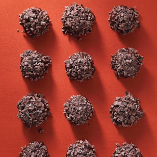 Chocolate Peanut-Butter Hedgehog Truffles