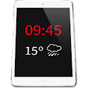 Tablet Widget Tiempo icon