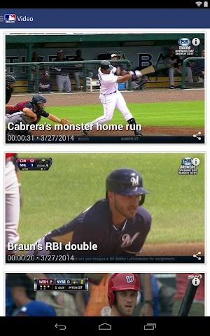 android MLB.com At Bat Screenshot 8