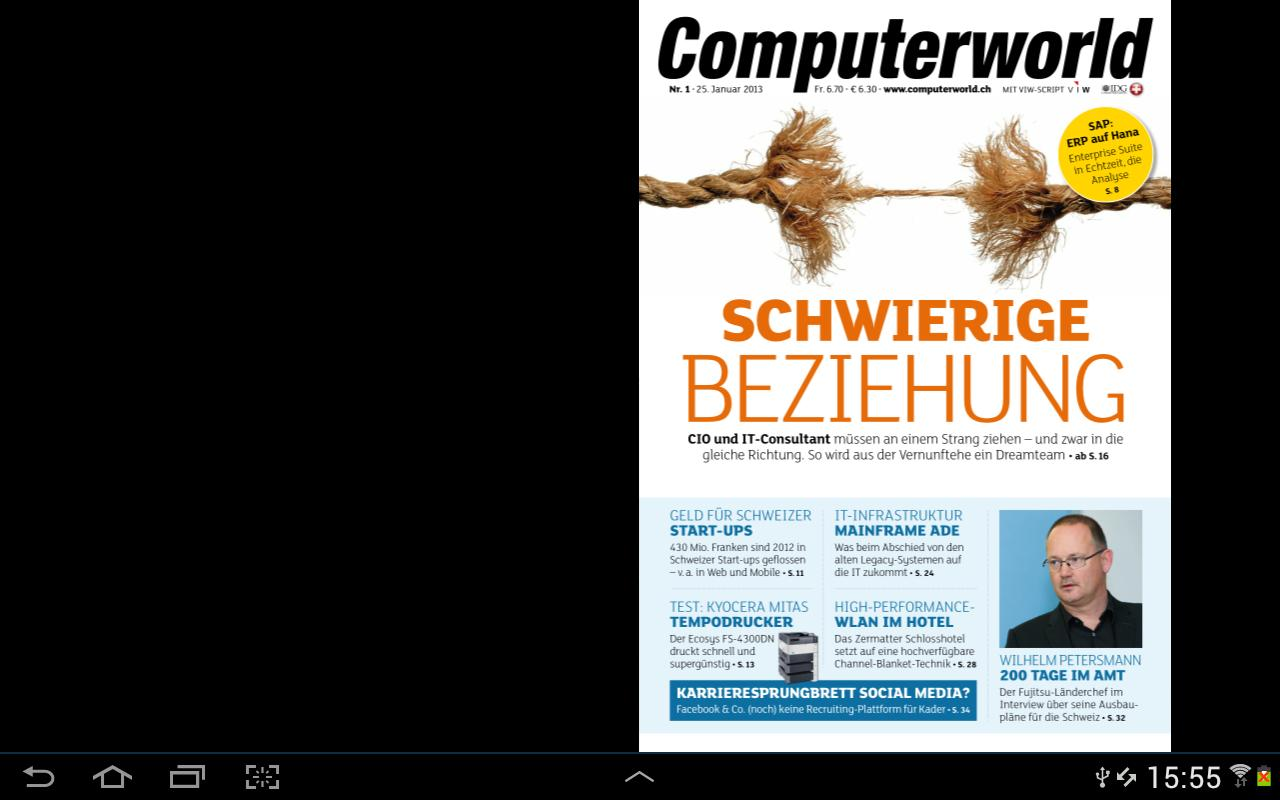 Computerworld Schweiz - screenshot
