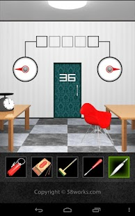 DOOORS2 - room escape game -- screenshot thumbnail