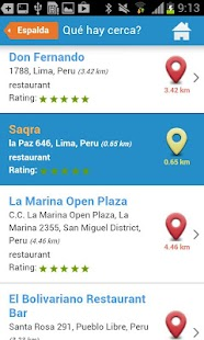 Lima Tourist Guide Map Hotels- screenshot thumbnail