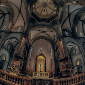 MANILA CATHEDRAL  by Chase Alog - Buildings & Architecture Places of Worship