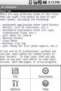 AmbleLink Notepad Basic Ed. - screenshot thumbnail