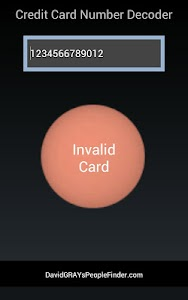 Credit Card Validation v1 build 35
