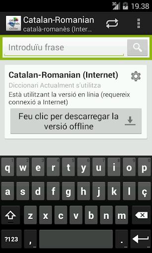 Catalan-Romanian Dictionary
