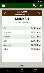 Prayer times: Qibla & Azan- screenshot thumbnail
