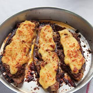 Stuffed Eggplant (Papoutsakia).