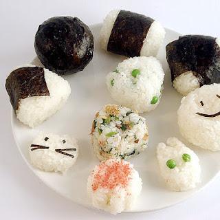 Onigiri (rice Balls).