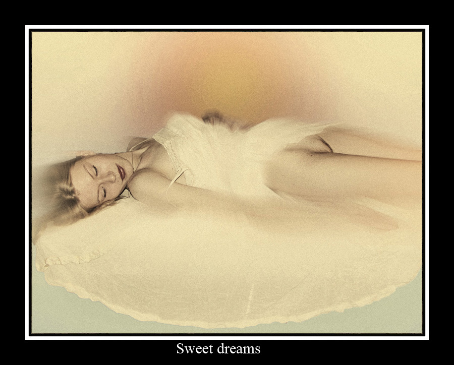 Sweet dreams  by Etienne Chalmet - Typography Quotes & Sentences ( erotic, girls, sexy, nude, beauty,  )