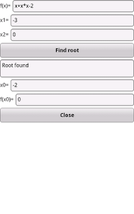 Free Root Finder - screenshot thumbnail