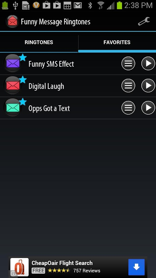 Funny Message Ringtones - screenshot
