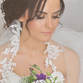 Bride by Ozge Kesim Yurtsever - Wedding Bride ( love, wedding, beauty, bride, just married, Wedding, Weddings, Marriage,  )
