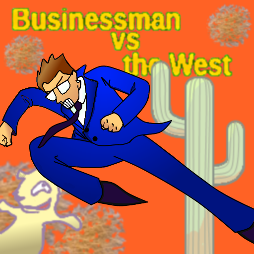 Businessman vs the West LOGO-APP點子