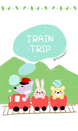 Train travel Go SMS theme