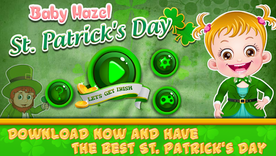 Baby Hazel St Patricks Day- screenshot thumbnail