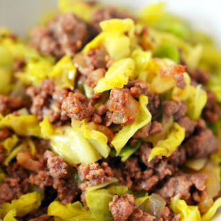 Garbage Stir-Fry with Curried Cabbage