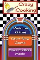 Screenshot of Crazy Cooking Free