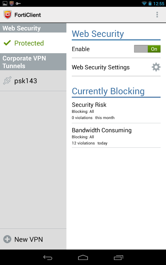 Forticlient ssl vpn unable to logon to