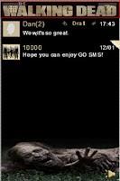 Screenshot of The Walking Dead GoSMS Theme