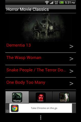 Free Horror Movie Classics