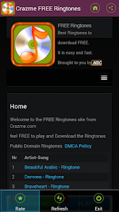 FREE Ringtones Crazme screenshot 5