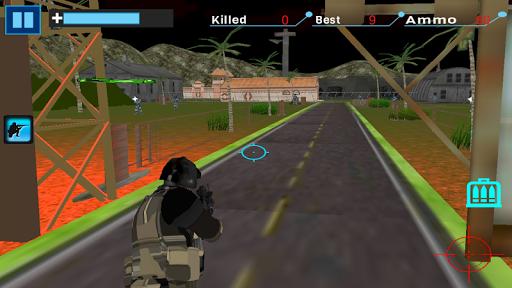Police Black Ops City battle