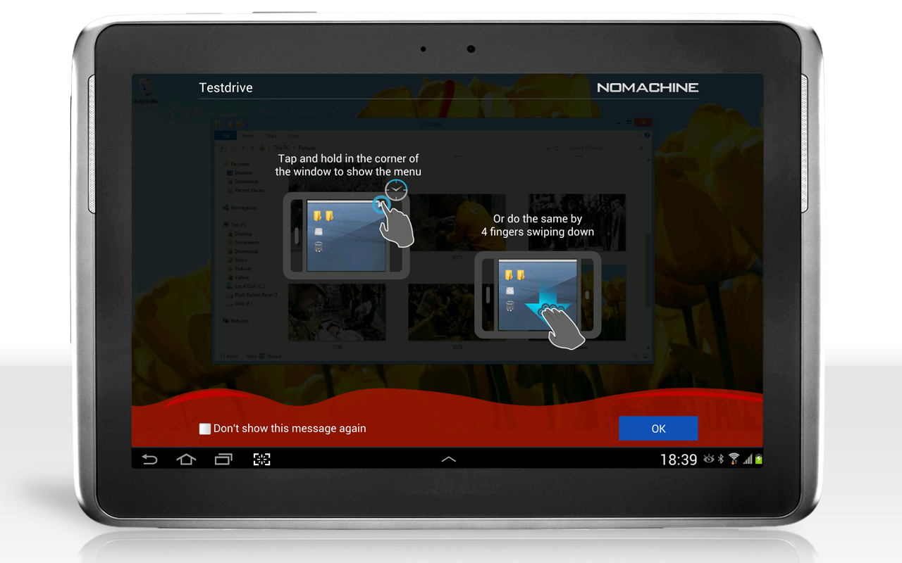 NoMachine - screenshot