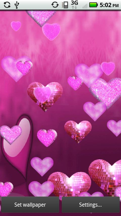 download its about Related Pictures Sparkly Heart Backgrounds pic