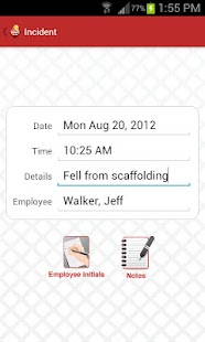 Safety Meeting App- screenshot thumbnail