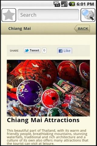Chiang Mai Travel Guide- screenshot