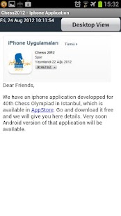World Chess Olympiad 2012 - screenshot thumbnail